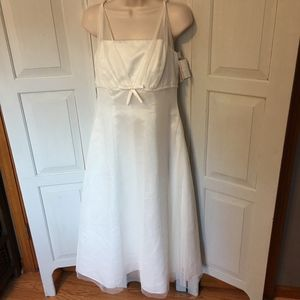 NWT David's Bridal Ivory Special Occasion Gown